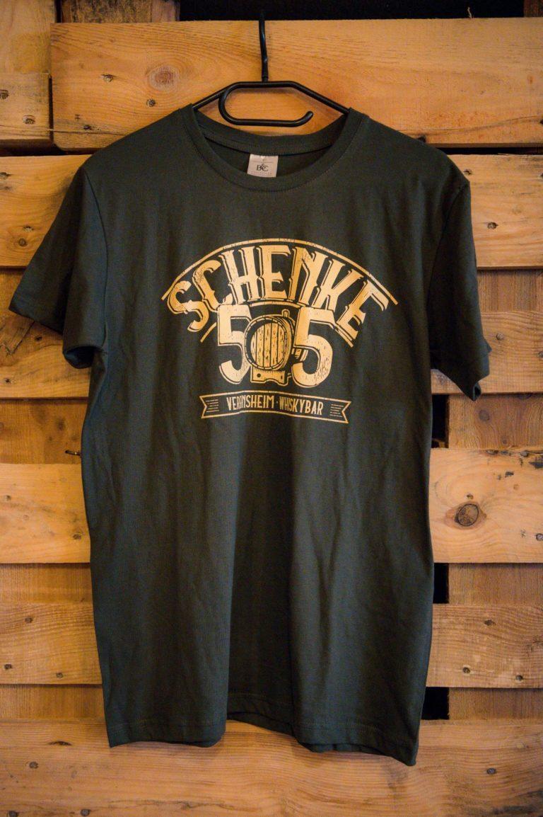 T-Shirt schwarz Schenke 55