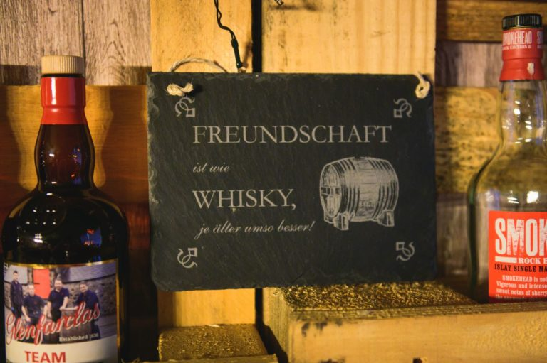 Whisky Spruch